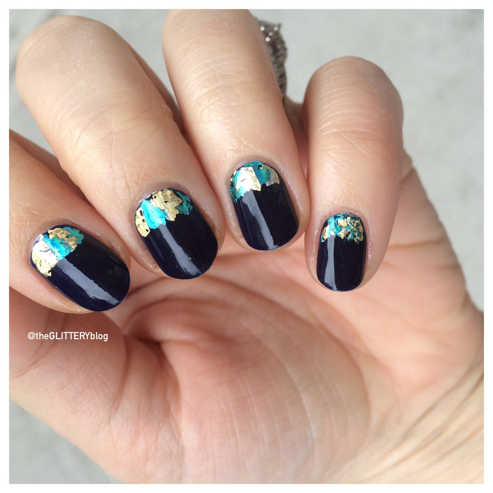 New Year\'s Eve Nail Art Tutorial