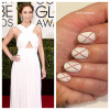Mani of the Week: Emily Blunt Golden Globes-Inspired Tutorial