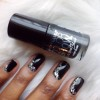 Mani of the Week: Pitch Black Perfection with Maybelline Patent Black