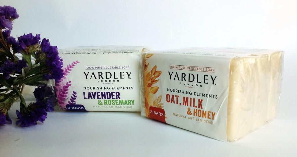 Yardley Nourishing Elements Artisan Soaps