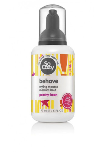 SoCozy behave styling mousse