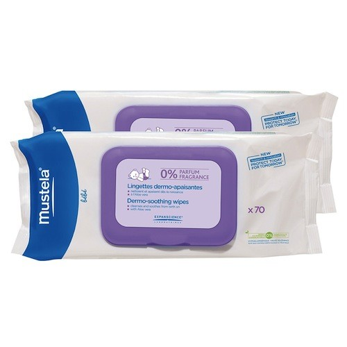 Dermo-Soothing Wipes Fragrance Free