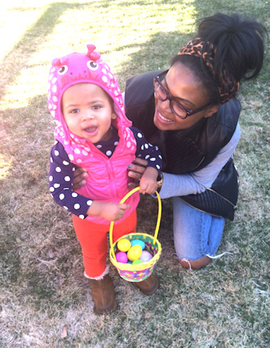 Easter Egg Hunt with Phoebe