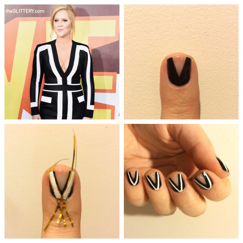 Amy Schumer Nail Art TUTORIAL