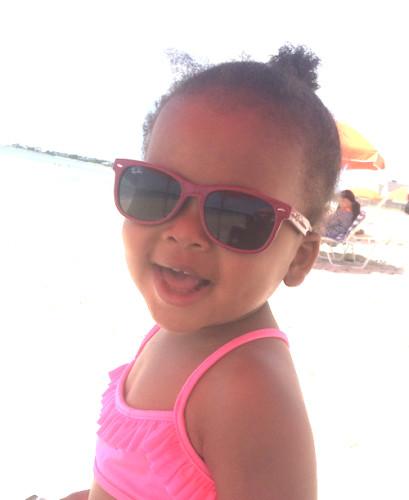 Phoebe Baby Ray Bans