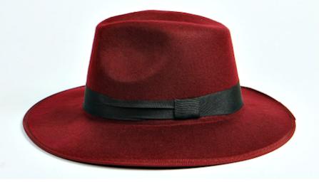 Lola Ribbon Fedora Hat, BooHoo