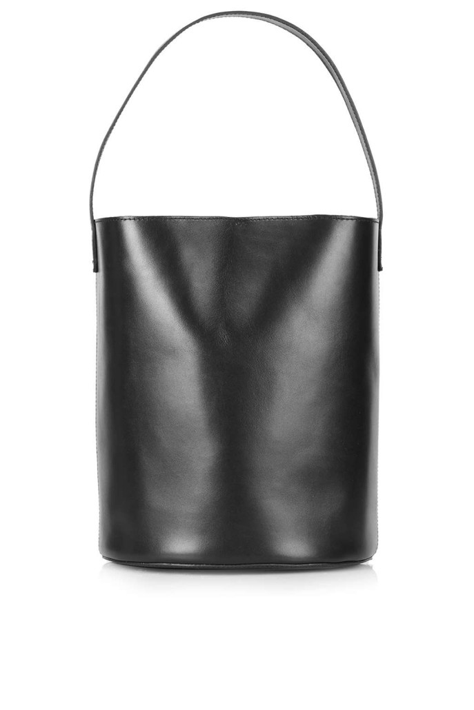 Premium Leather Bucket Bag
