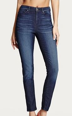 G by Guess High-Rise Ankle Skinny Jeans