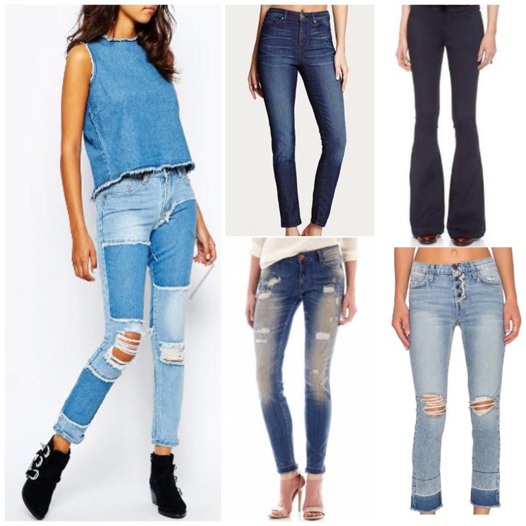 Hottest Denim Trends for Fall 2015