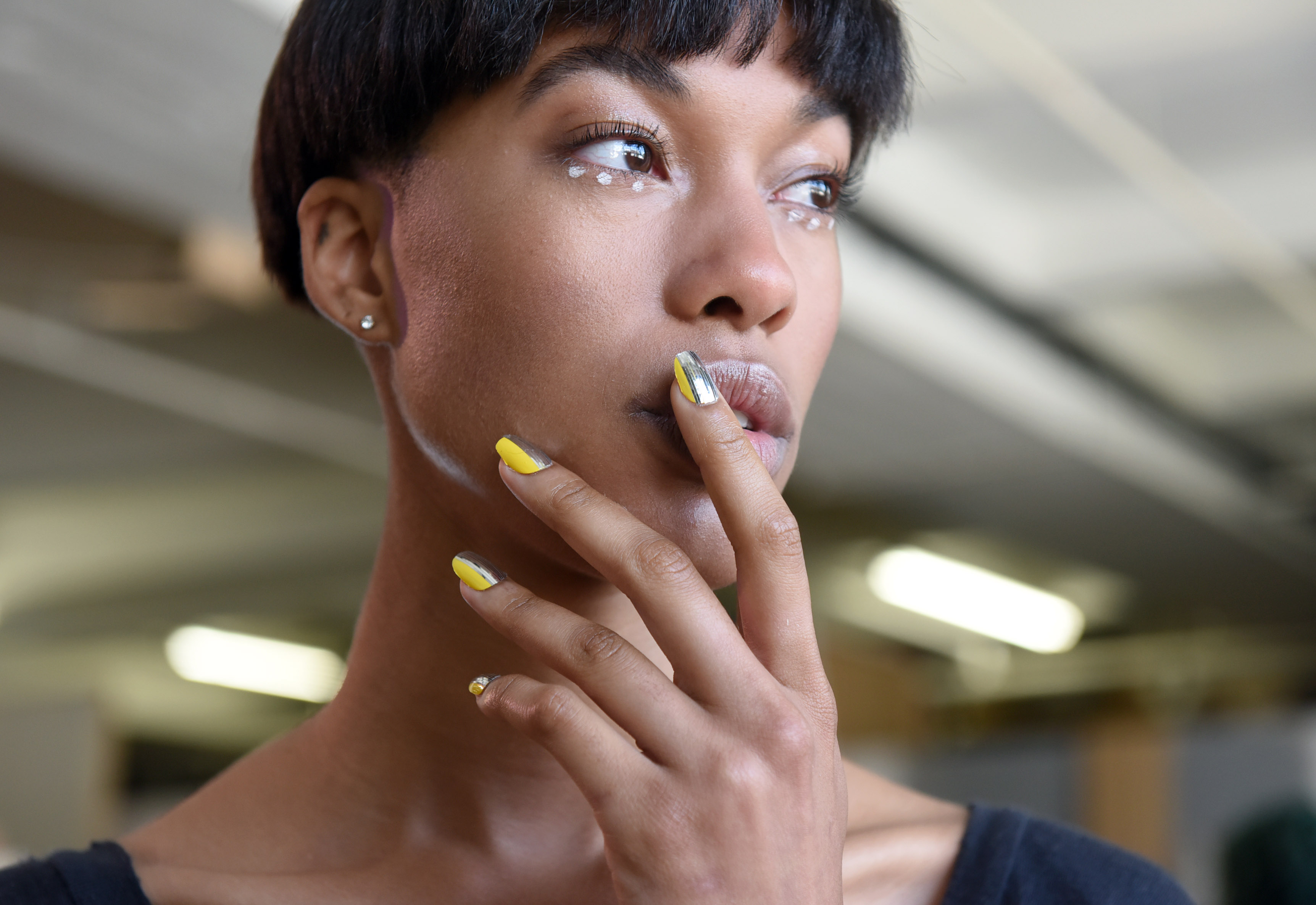 KISS Nails at Daniel Silverstain Spring Summer 2016 during New York Fashion Week, Wednesday, Sept. 9, 2015.  (Photo by Diane Bondareff for KISS Nails)