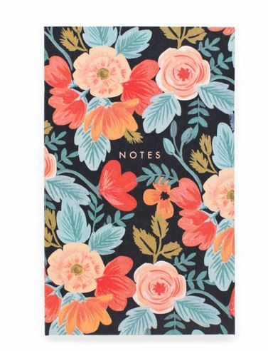 Rifle Paper Co. Everyday Pocket Notebook in Russian Rose