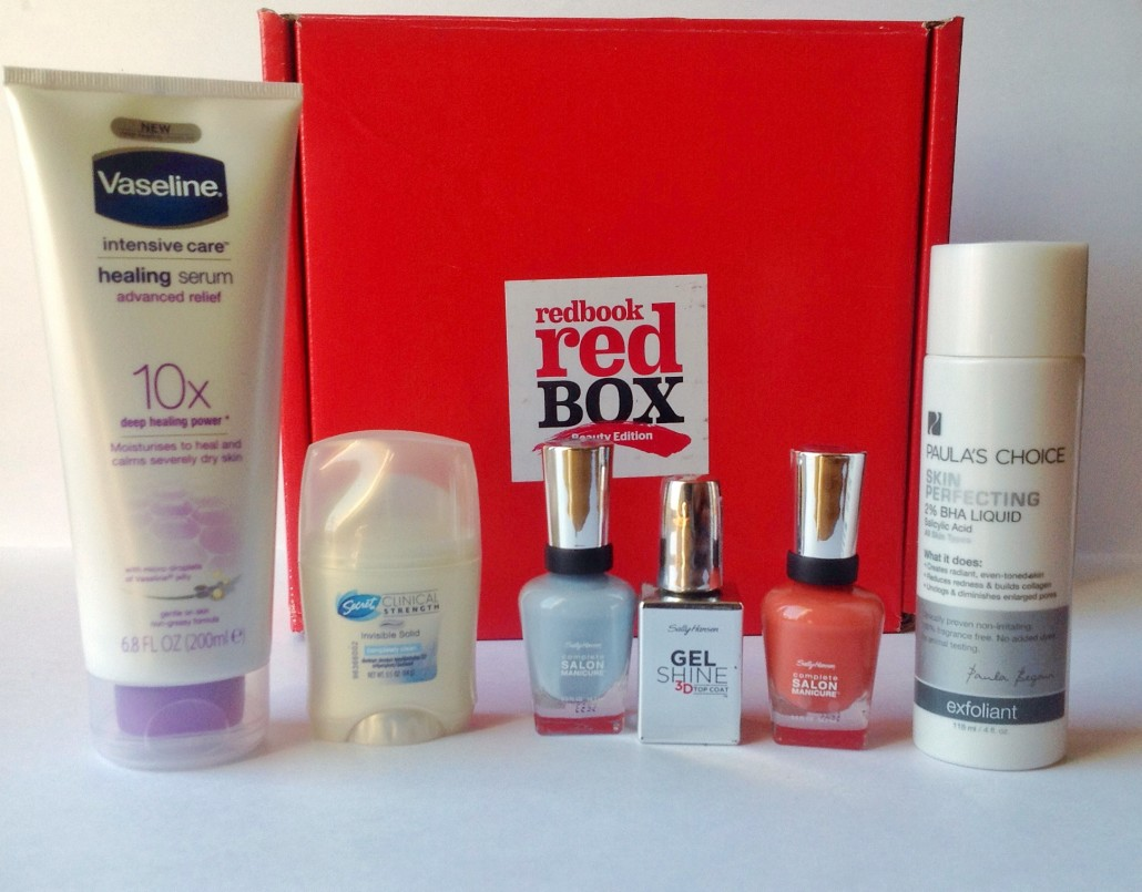Redbook Red Box Beauty Edition -- Things You Need for Fall