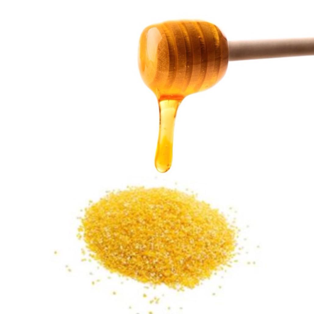 DIY Cornmeal and Honey Body Scrub