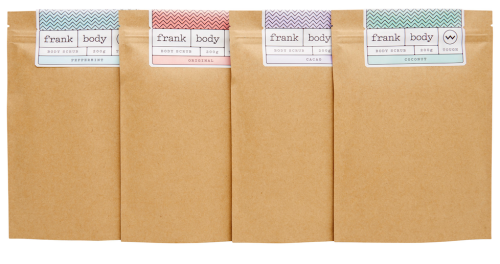 favorite body care products of 2015 - Frank Body Coffee Scrubs