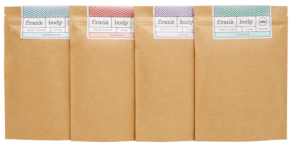 Frank Body Coffee Scrubs