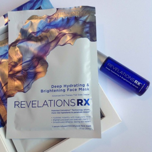 Facial Sheet Masks - Revelations RX Deep Hydrating & Brightening for Face