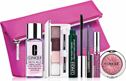 Beauty Gift Sets - CLINIQUE Pretty Wow, Pretty Now Color Set