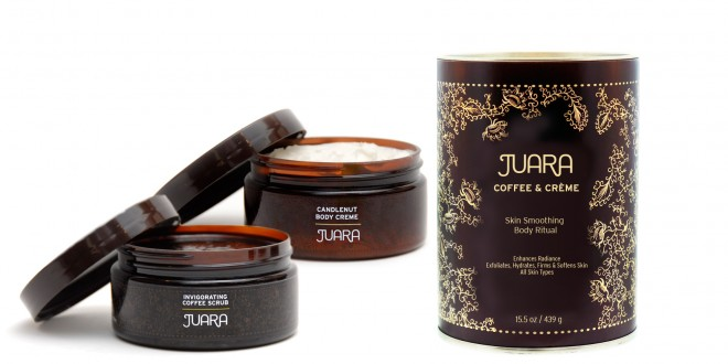 Juara Coffee & Crème Skin Smoothing Body Ritual Set