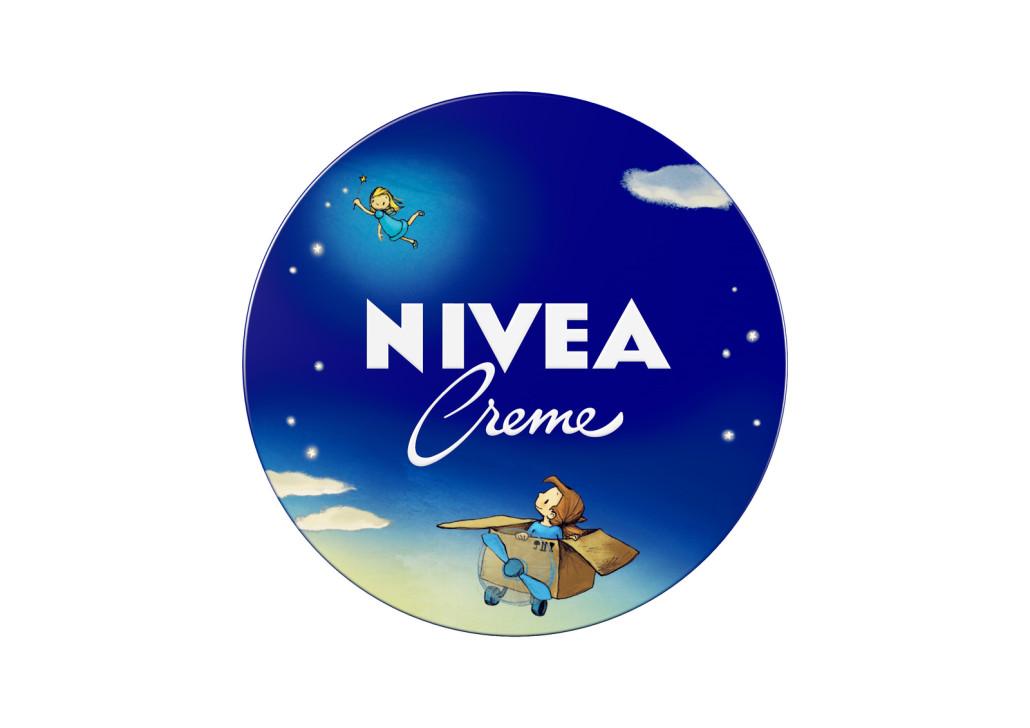 Nivea Creme-150ml-TIN-MiaSky-vorne