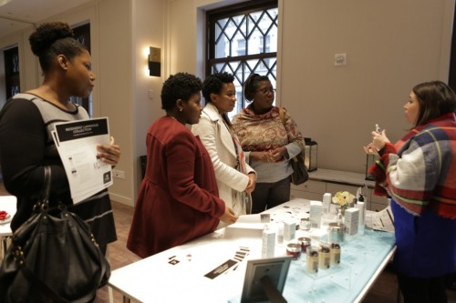 Olay Skincare gave guests the fundamentals of a more even skin tone with their Regenerist Luminous line.