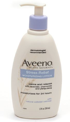 favorite body care products of 2015 - Aveeno Stress Relief Moisturizing Lotion