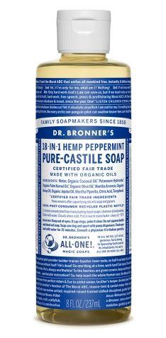Dr. Bronner Pure-Castile Liquid Soap