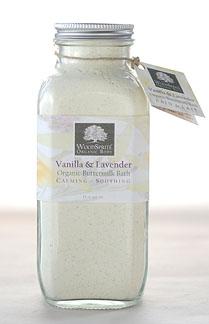 Woodsprite Organic Body Vanilla & Lavender Organic Buttermilk Bath
