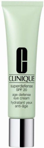Treating Dark Circles, Under Eye Bags and Wrinkles - CLINIQUE Superdefense SPF 20 Age Defense Eye Cream