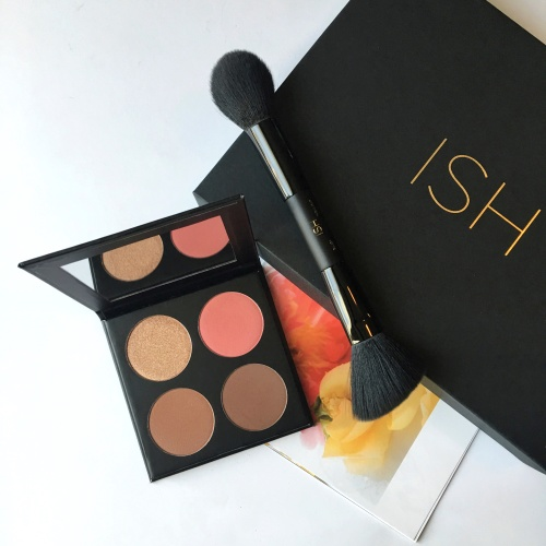 My Spring Makeup Essentials - ISH Cosmetics Contour Palette - Medium Dark