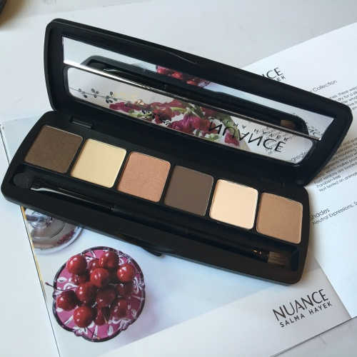 My Spring Makeup Essentials - Salma Hayek Shadow Palette in Neutral Expression