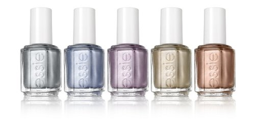 Metallic Makeup - essie-mirror-metallics