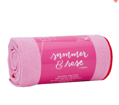 Summer & Rose Yoga Towel