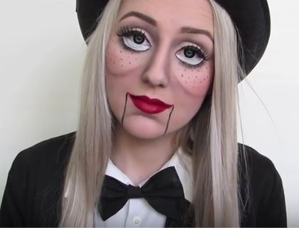 Halloween Beauty Look-bonnie-corban-ventriloquist-doll-youtube