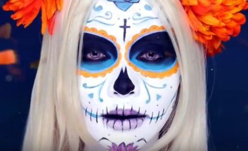 Halloween Beauty Look-michelle-phan-sugar-skull-youtube