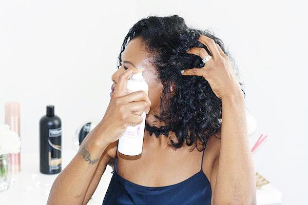 Dove Refresh+Care Invigorating Dry Shampoo x ThisThatBeauty
