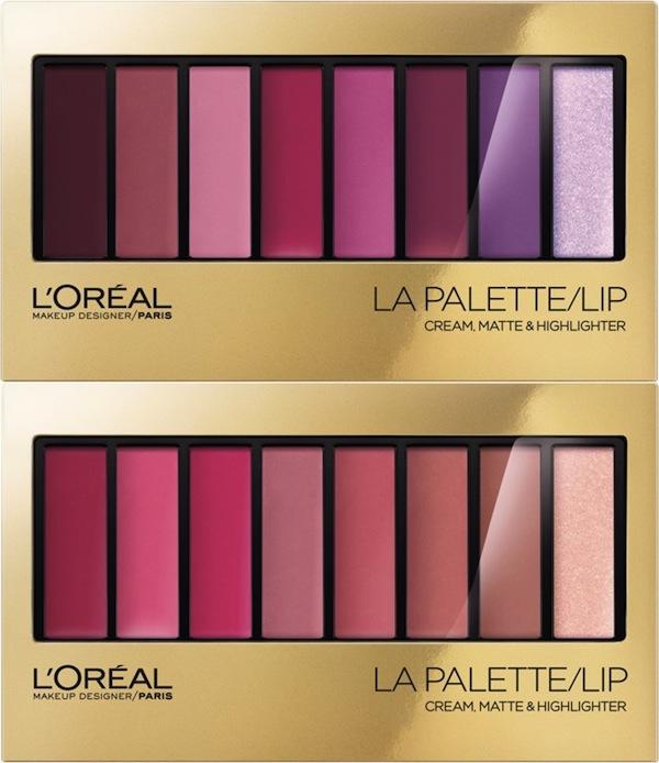 L'Oréal Paris Limited Edition Colour Riche La Palette Lip