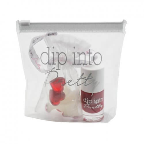 DIP into pretty VDAY SET - Valentines Day Gift