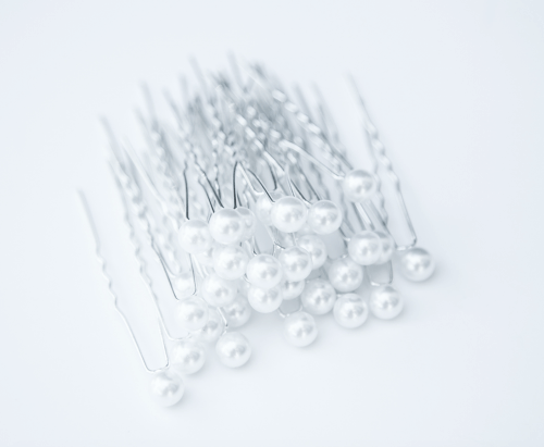 IV Chic Charleston Pearl Pins - Wedding Hair