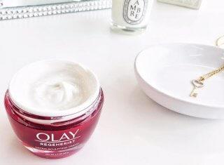 ThisThatBeauty x Olay face cream