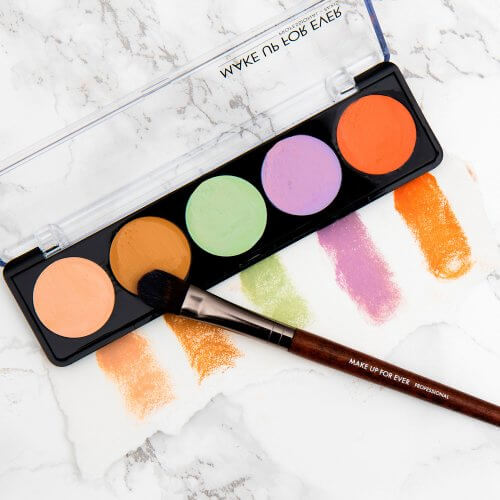 The Art of Color Correcting with Makeup - Make Up For Ever